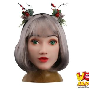 Angel Female Silicone Mask