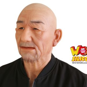 Old Man Silicone Mask