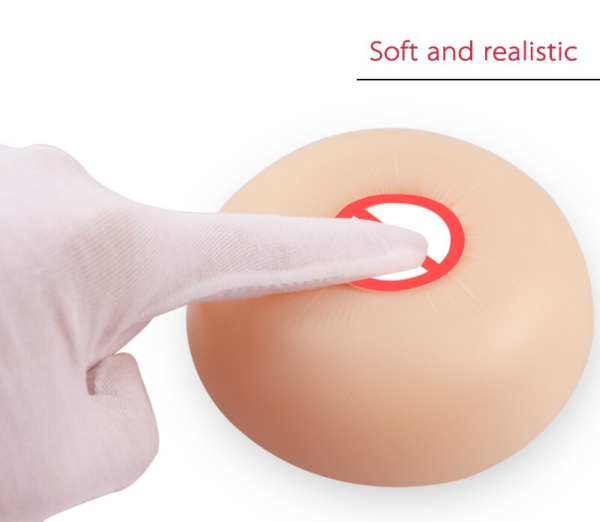 Realistic Silicone Round Breast Forms