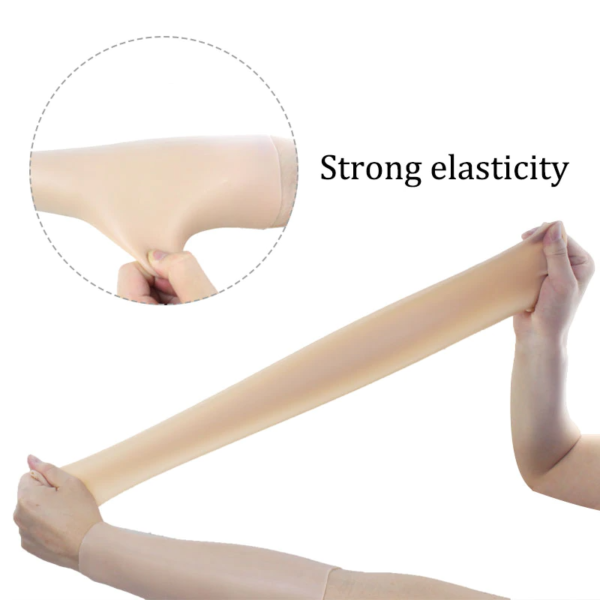 Silicone Arm Sleeves - Strong Elasticity