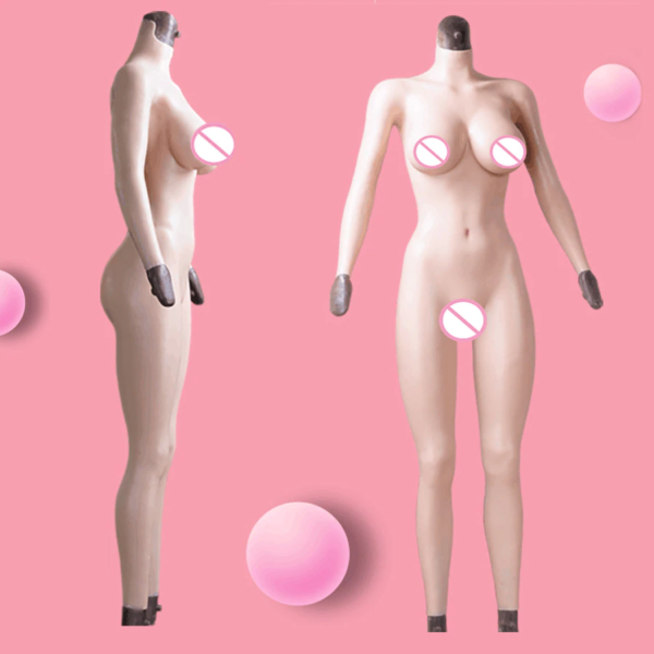 Silicone Full Bodysuit - Front & Side