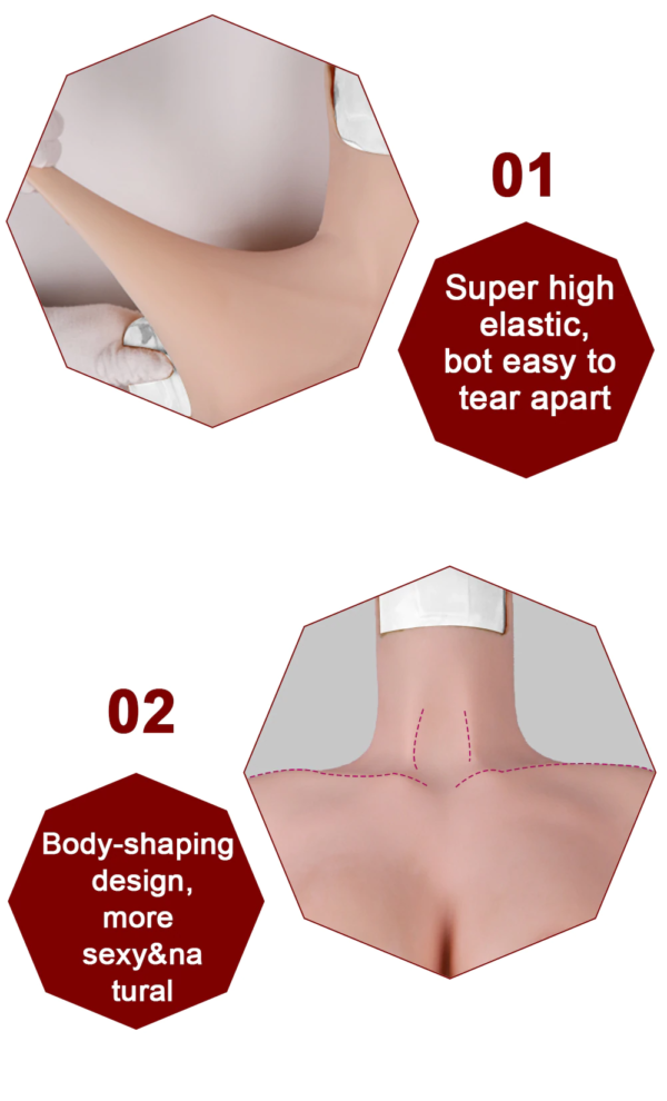 Silicone Full Bodysuit - Product Display