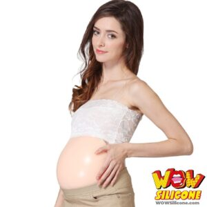 Silicone Fake Pregnant Belly